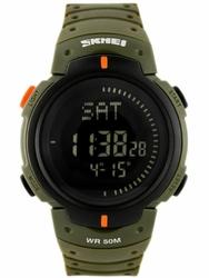 Męski zegarek Skmei DG1231 - Compas  World Time zs006b