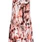 Sukienka batikowa z ozdobnym sznurowaniem bonprix koralowo-biel wełny z nadrukiem