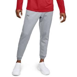 Spodnie dresowe męskie under armour fleece jogger - szary