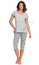 Piżama damska Wadima Gisele 104369 kr.ręk. spodnie 34