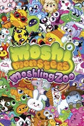 Moshi Monsters Moshling Zoo - plakat