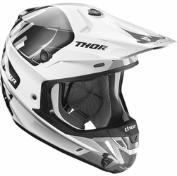 THOR KASK VERGE VORTECHS S7 OFFROAD WHITEGRAY