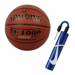 Piłka Spalding TF-1000 Legacy + pompka Nike Essential