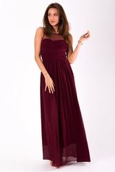 Evalola sukienka - oberżyna  9709-6