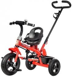 Rowerek trójkołowy z obracanym siedziskiem tobi air rotated - czerwony