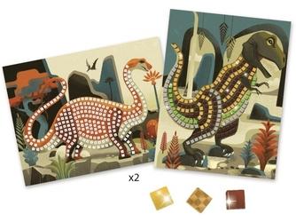 Dinozaury mozaika zestaw kreatywny