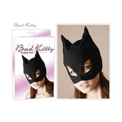 Czarna maska kuszącej kotki bad kitty