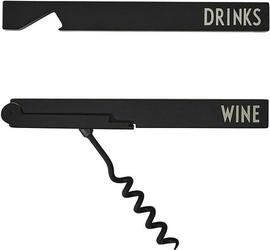 Otwieracz do butelek i wina design letters 2 szt.