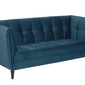 Sofa jonna velvet blue - niebieski