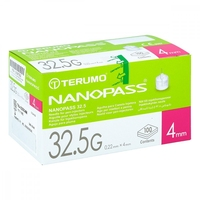Nanopass 32,5 pen kanüle 32,5g 0,22x4mm