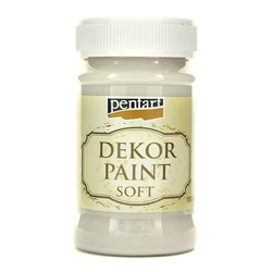 Farba Dekor Paint Soft 100 ml - szary - SZA