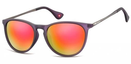 Damskie okulary przeciwsloneczne lustrzanki ms24g