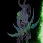 Blizzardverse stencils - illidan, the betrayer, warcraft - plakat wymiar do wyboru: 70x100 cm