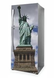 Naklejka na lodówkę statua wolności p1055