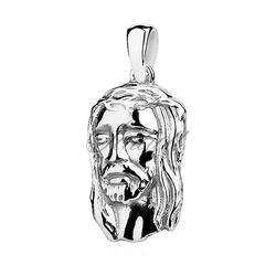 Srebrny medalik pr.925 twarz jezusa