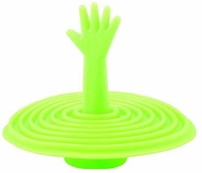 Korek Silikonowy do Wanny Umywalki Zlewu Uniwersalny - Zielony