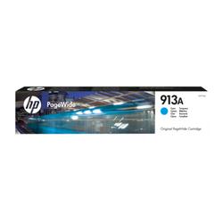 Błękitny wkład atramentowy HP 913A Original PageWide