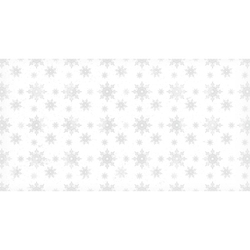 Papier ozdobny świąteczny 17x32 cm śnieg 2 - biały - biały