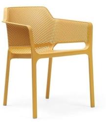 Krzesło net - żółty