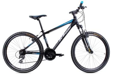 Rower rland mtb 26 enduro  czarno-niebieski