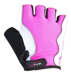 Rękawiczki rowerowe damskie vivo lady sb-01-3160 pink