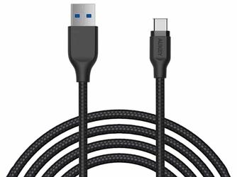 Kabel USB 3.1 Aukey CB-AC2 USB-C nylon 2m black