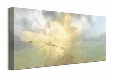 Pomiędzy wyspami - obraz na płótnie