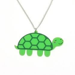 Naszyjnik punky pins - cute tortoise