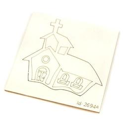 Kościół 5x5 cm
