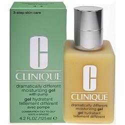 Clinique dramatically different moisturizing gel with pump kosmetyki damskie - żel do mycia twarzy 125ml