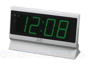 Budzik JVD z zasilaczem sieciowym zielony SB1820.2