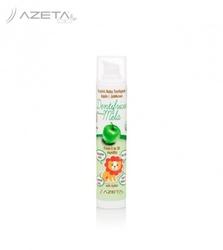 Azeta bio organiczna pasta do zębów bez fluoru z ksylitolem dla dzieci 0-36m jabłkowa 50 ml