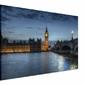 Big Ben o zmierzchu - obraz na płótnie