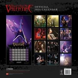 Bullet for my valentine - kalendarz 2014