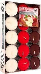 Bispol, Jabłko-Cynamon, podgrzewacze zapachowe, 30 sztuk
