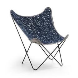 Krzesło zahario niebieskie