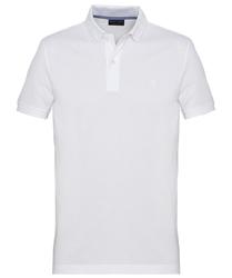 Męska koszulka polo profuomo w kolorze białym s
