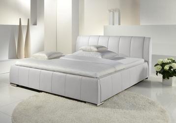 Łóżko tapicerowane 140 cm eva