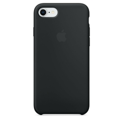 Apple iPhone 8  7 Silicone Case - Black