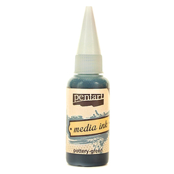 Tusz MediaInk 20 ml Pentart - poterry-green - POTT