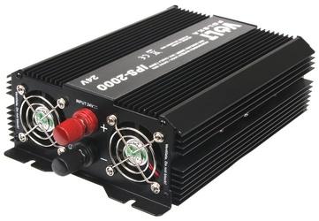 Przetwornica ips-2000 24v  230v 13002000 w - szybka dostawa lub możliwość odbioru w 39 miastach