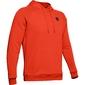 Bluza męska under armour rival fleece po hoodie - czerwony