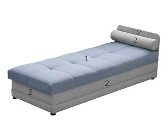 Łóżko pojedynczekanapa happy z pojemnikiem