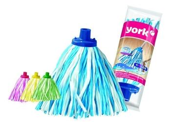 York, końcówka mop syntetyczna kolor, 1sztuka