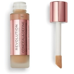 Makeup revolution conceal  define full coverage podkład f10