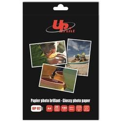 UPrint Glossy photopaper, foto papier, połysk, biały, A4, 180 gm2, 20 szt., atrament