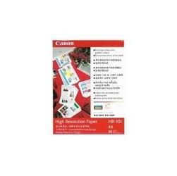 Canon High Resolution Paper, foto papier, wodoodporny, biały, A3, 106 gm2, 20 szt., HR-101 A3, atrament