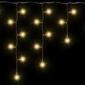 Lampki 200 led, wiszące, ciepłe białe