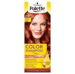 Palette color shampoo, koloryzujący szampon, 218 lśniący bursztyn