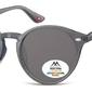 Okragle szare okulary polaryzacyjne montana mp20f